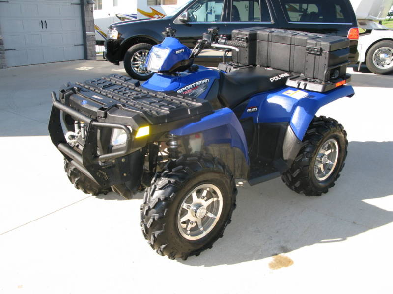 2007 Polaris Sportsman 800 Efi Home